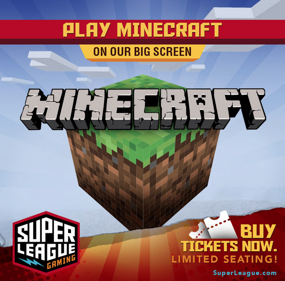 Minecraft gaming events in Philly