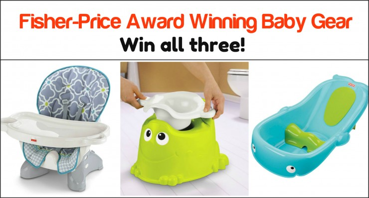 Fisher-Price Award Winning Gear Giveaway!