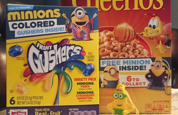 Giveaway: General Mills is amping up for Minions!
