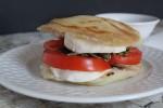 Arepa Caprese Sandwich