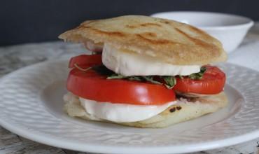 Arepa Caprese Sandwich Recipe