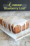 Super Moist Lemon Blueberry Loaf Recipe