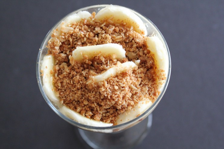 Whipped Peanut Butter Parfait
