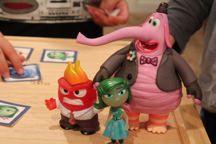 INSIDE OUT TOMY toys