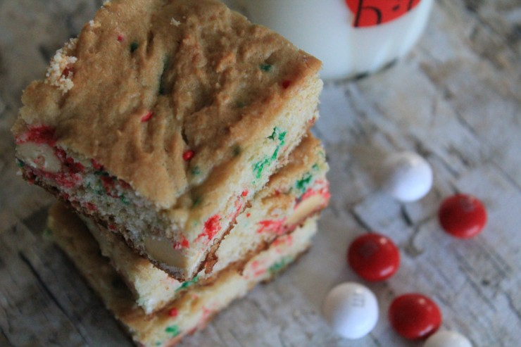 White Peppermint Squares #BakeInTheFun