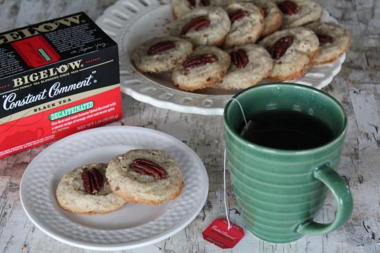 Pecan Thumbprint Cookies Recipe #MeAndMyTea