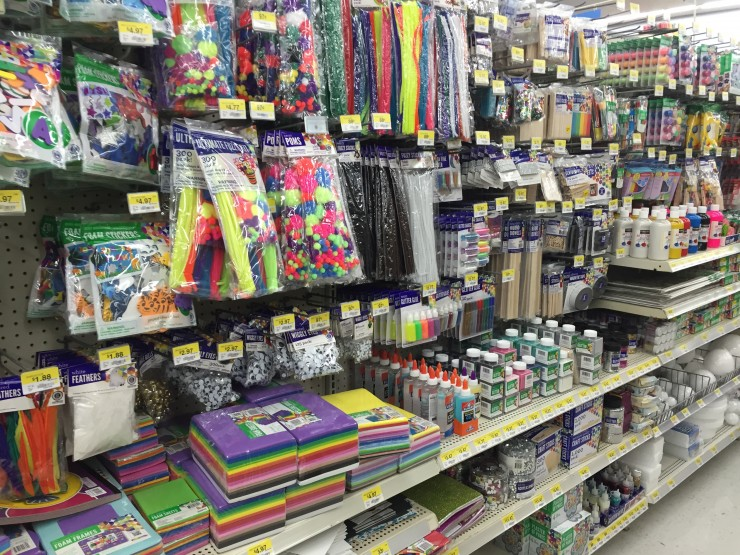 Craft aisle