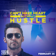 Eddie the Eagle Giveaway
