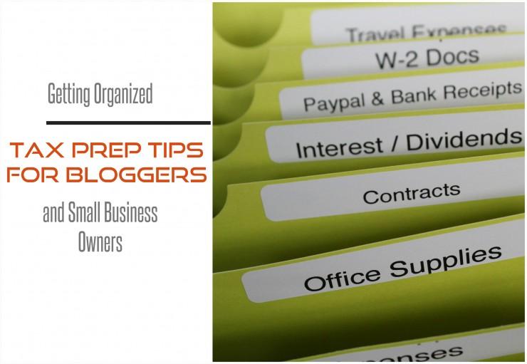 Tax Prep Tips