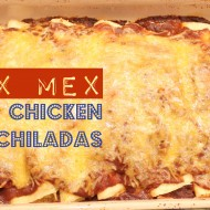 Tex Mex Chicken Enchiladas