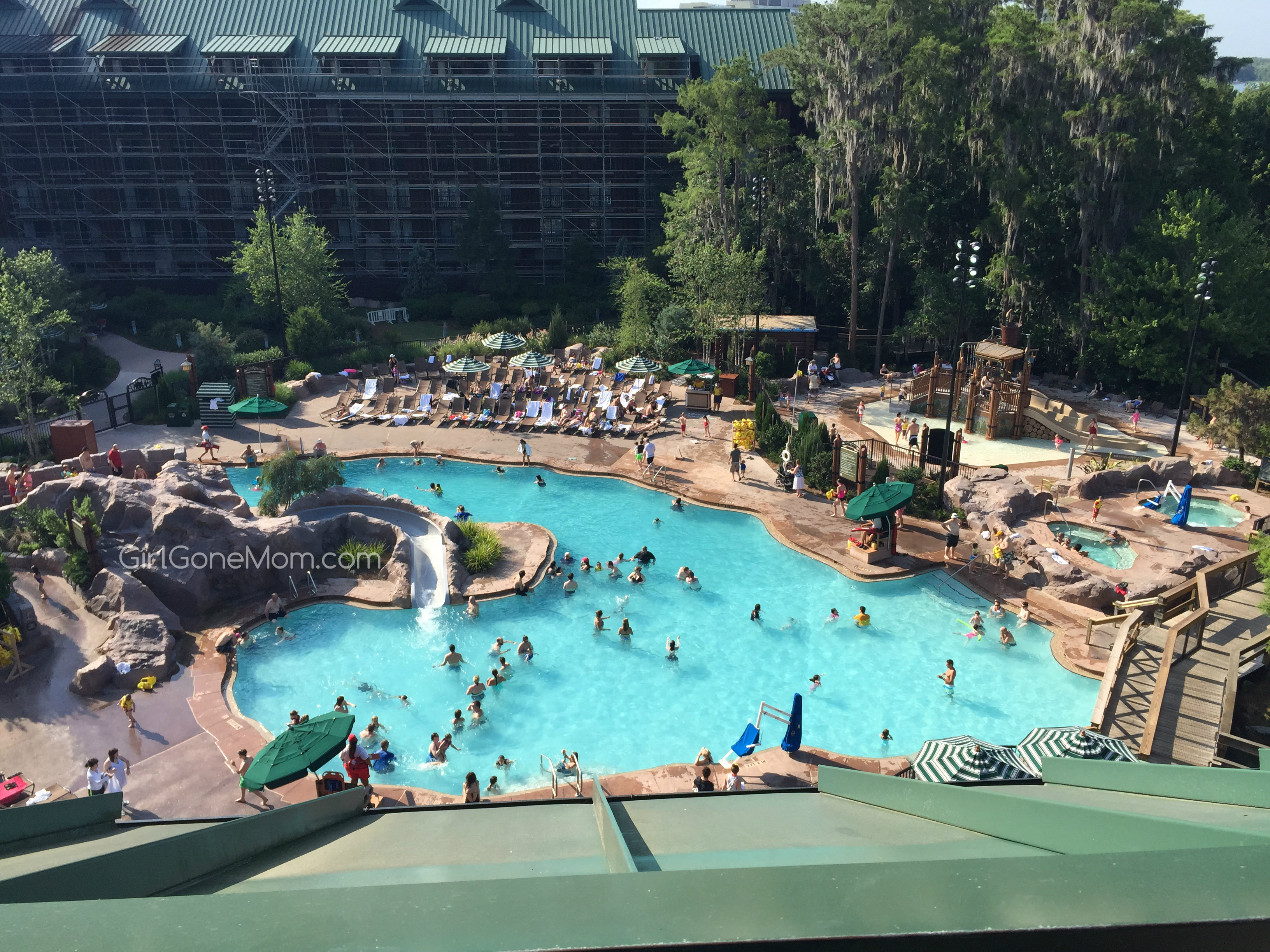 Disney 39 s wilderness lodge resort review girl gone mom for Pool photos