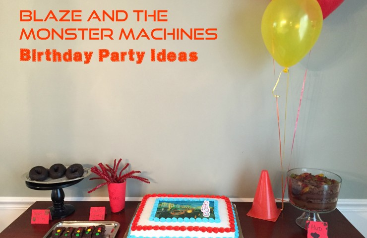 Blaze and the Monster Machines Party