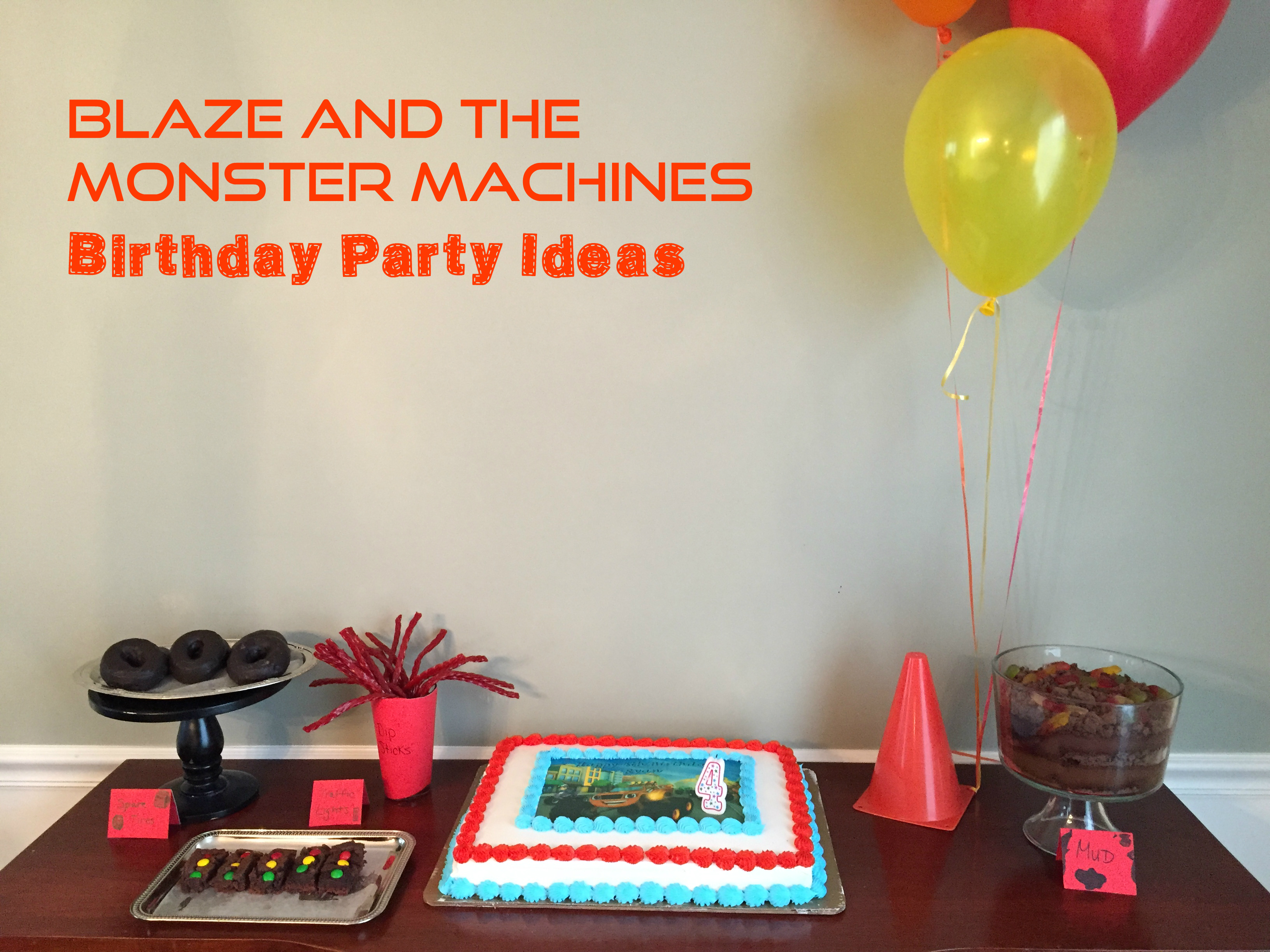 Blaze and the Monster Machines Party - Girl Gone Mom