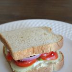 Sea my Mediterranean Veggie Sandwich Recipe (Nature's Harvest Giveaway)