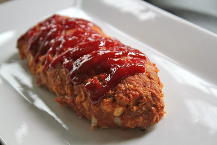 All-American Meatloaf + DIY Oven Cleaner Tutorial #ScrubDishCloth