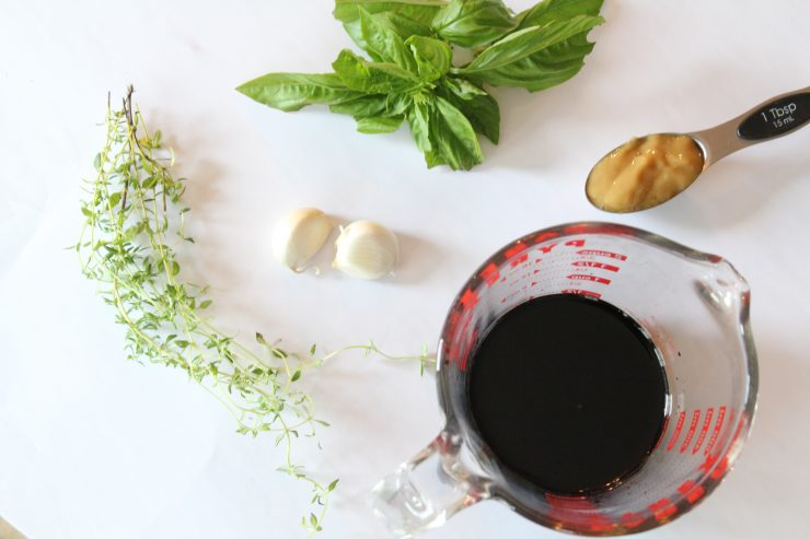 Herbed balsamic