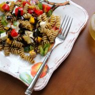 Vegetarian Pasta Salad with Herbed Balsamic