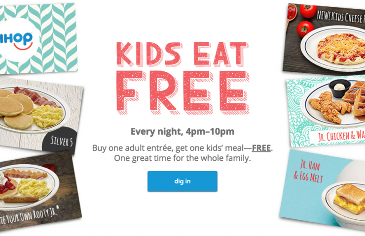 Kids Eat Free at IHOP for Back to School