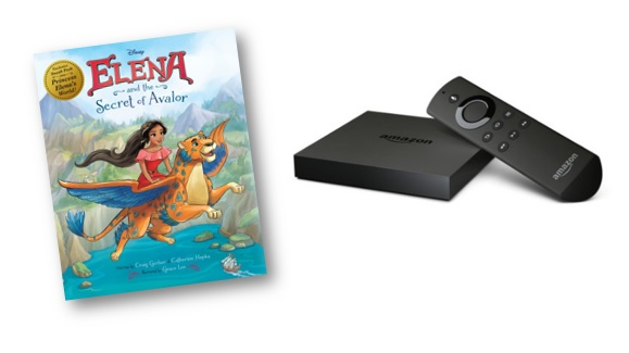 Elena of Avalor + Amazon Fire Giveaway Ends 11/11/16
