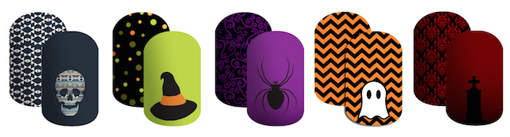 Halloween Nail Wraps from Glossique