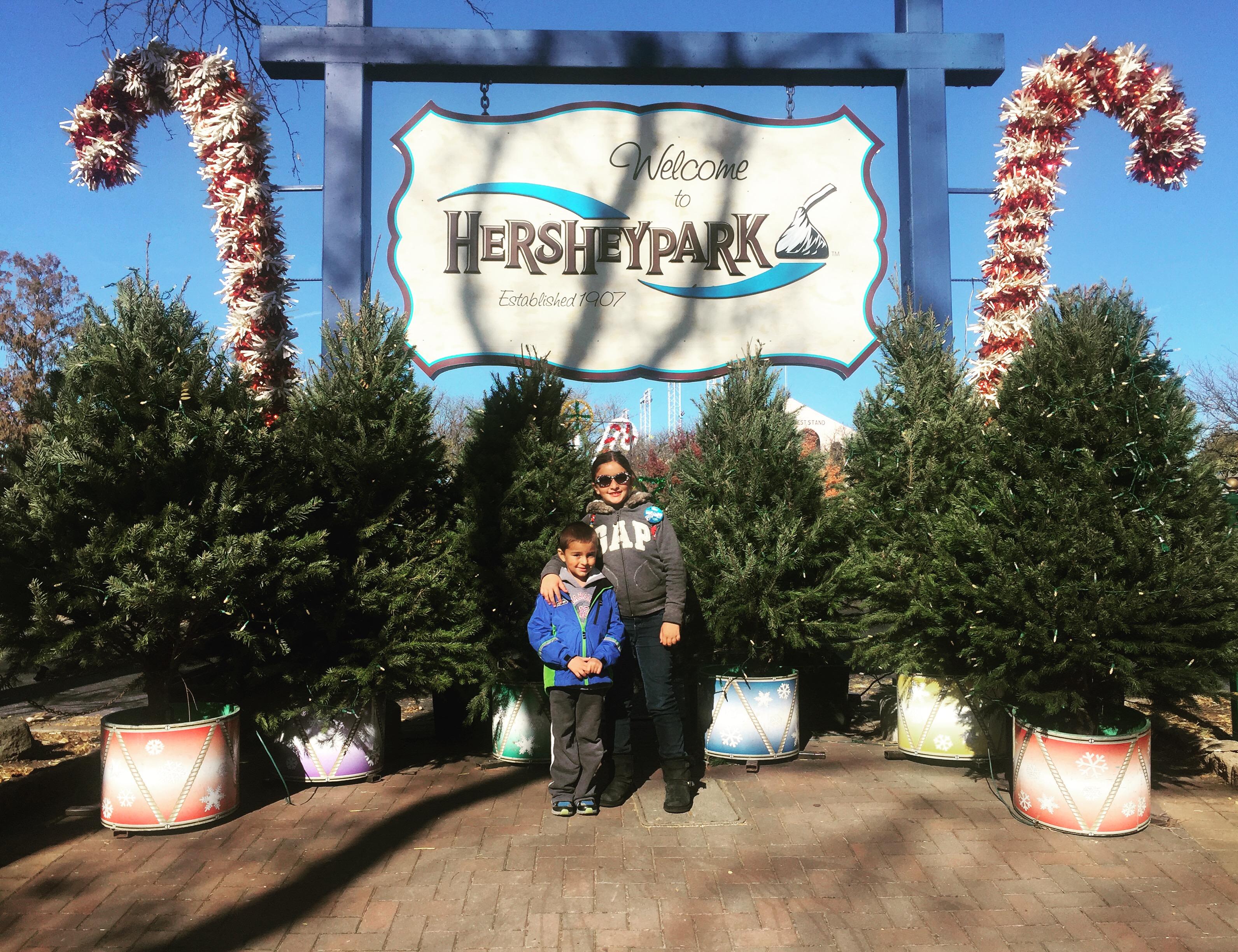 Hershey Park Christmas.Christmas At Hershey Candylane At Hershey Park