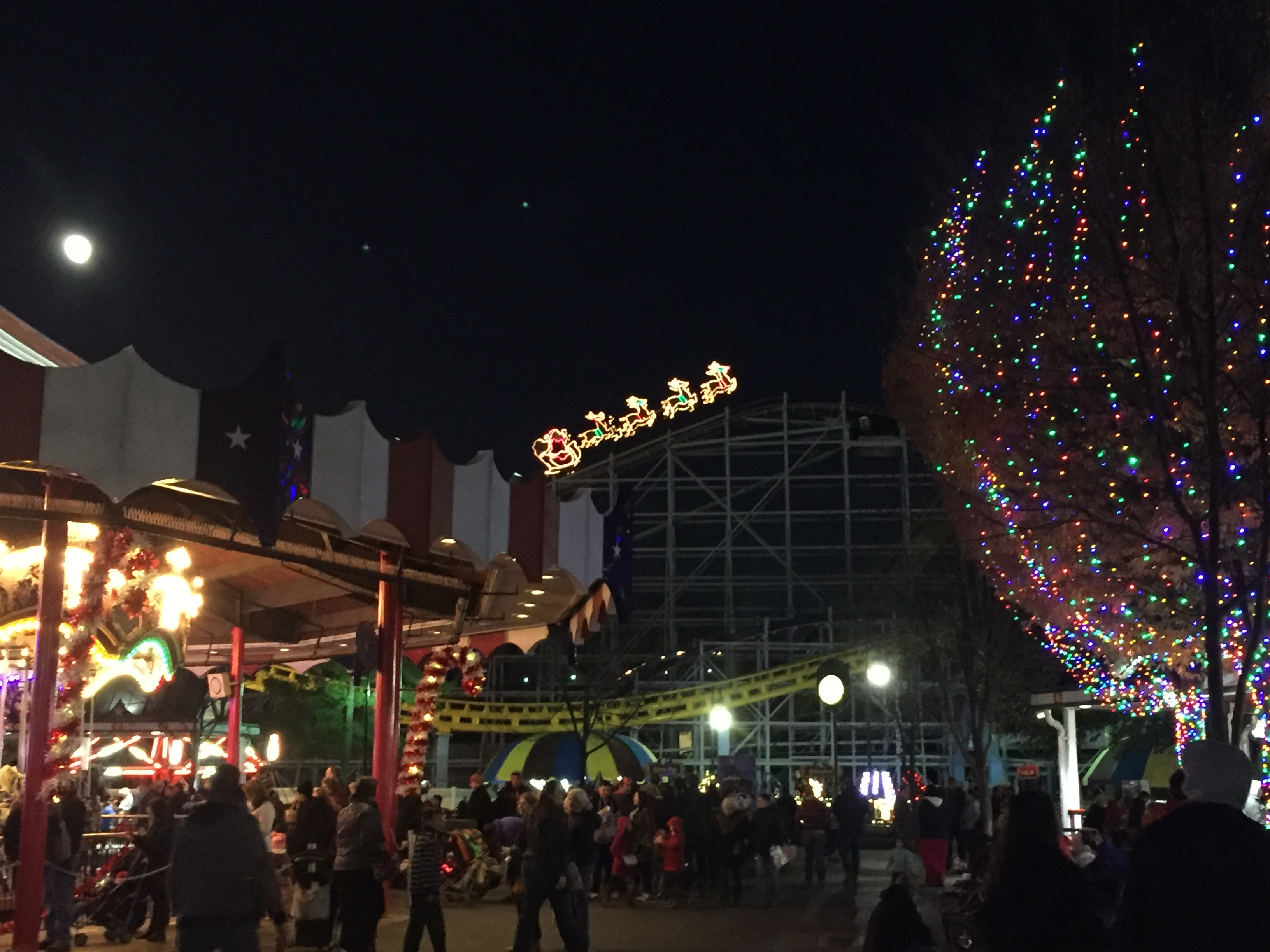 Christmas At Hershey Park
