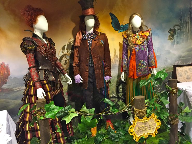 Alice Through the Looking Glass Set Costumes