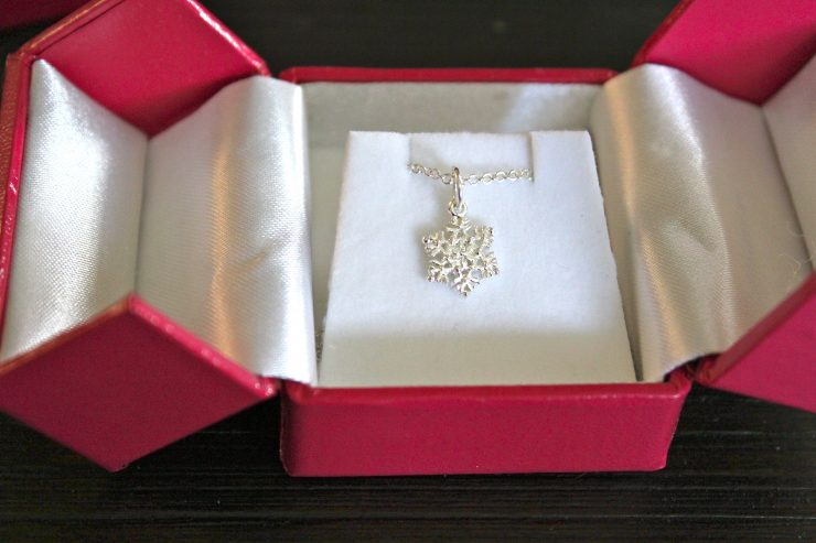 Helen Ficalora Sterling Snowflake Necklace