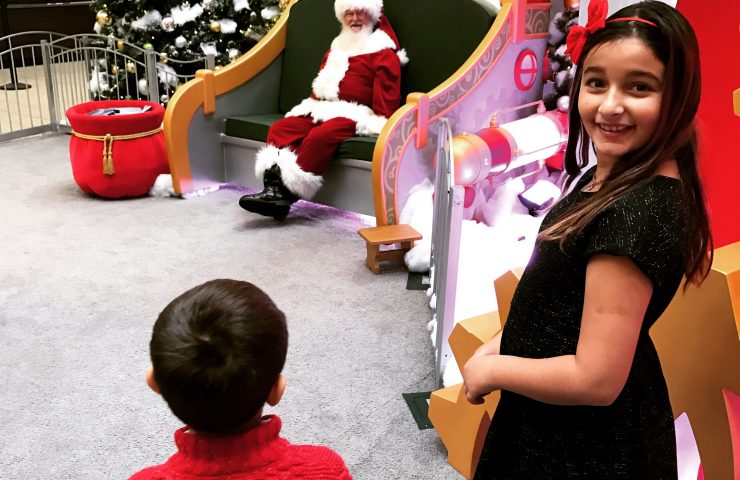 Naughty or Nice? Visit Santa HQ at Deptford Mall and find out!