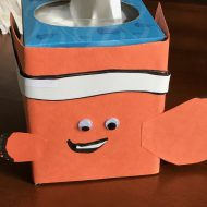Kleenex® Finding Dory Tissue Box Designs + Nemo Tissue Cozy