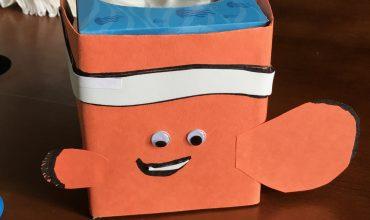 Kleenex® Finding Dory Tissue Box Designs + Nemo Tissue Cozy