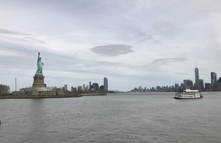 Service to Lady Liberty and Ellis Island via Statue Cruises