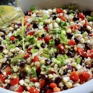 Sweet Corn and Bean Quinoa Salad (7sp)