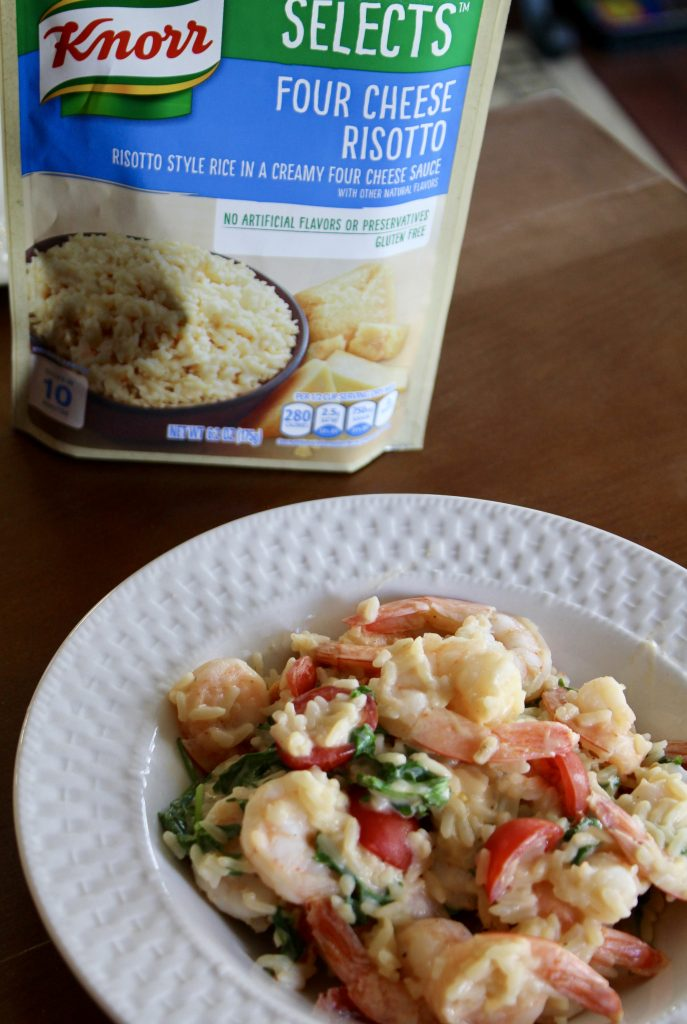 Garlic Shrimp Risotto
