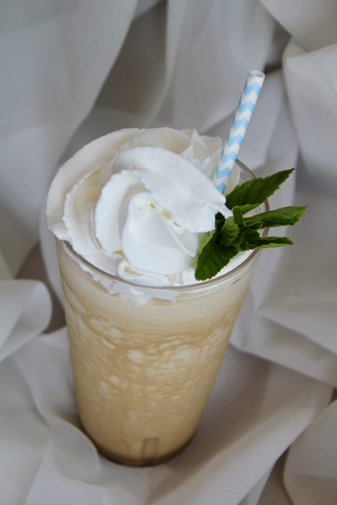 Frozen Mint Infused Coffee
