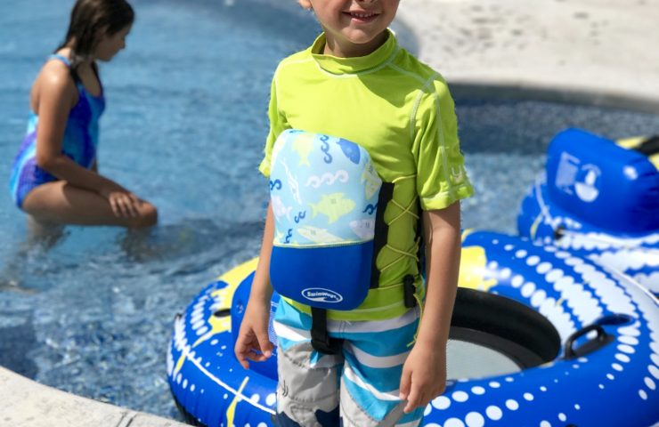 SwimWays Products Help Little Ones Learn to Swim