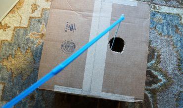 DIY Cat Play Box #MeowMixatTarget