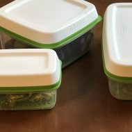 Keep Produce Fresh Longer with Rubbermaid® FreshWorks™ Containers {Giveaway}