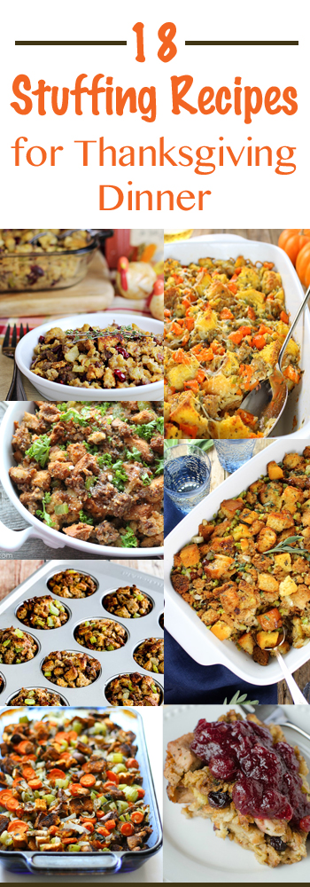 18 Stuffing Recipes for Thanksgiving Dinner