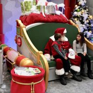 Meet the Big Guy at Santa HQ at the Deptford Mall
