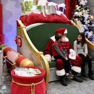 Meet the Big Guy at Santa HQ at the Deptford Mall