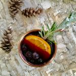Winter Berry Red Wine Spritzer