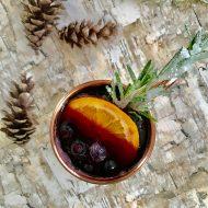 Winter Berry Red Wine Spritzer