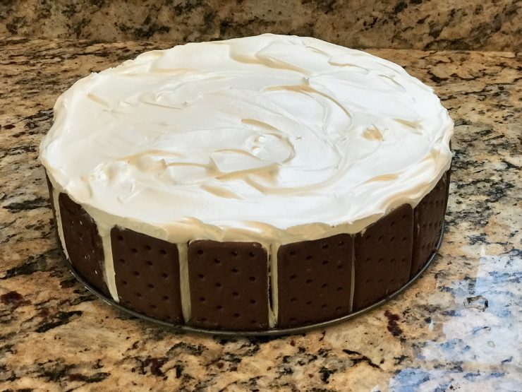Super Simple Ice Cream Sandwich Cake