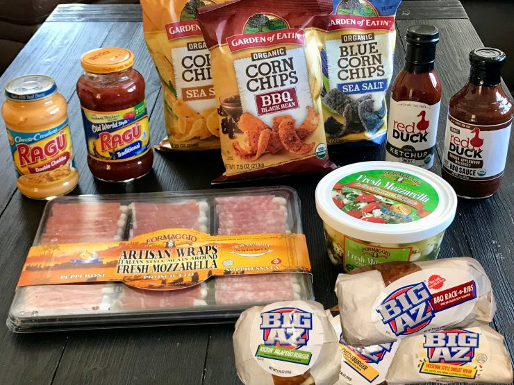#BigGameBBxx #ad What we're eating on game day