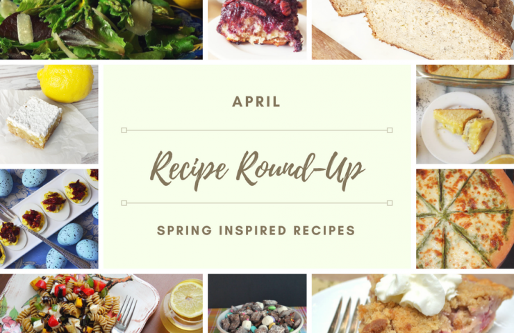 April Recipe Round-Up and Electric Hand Mixer Giveaway!