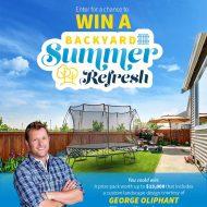 Springfree Trampoline Backyard Summer Refresh Giveaway!