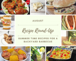 August Recipe Roundup + Enameled Dutch Oven Giveaway