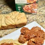 Easy Chicken Bruschetta with Twisted Garlic Bread Recipe