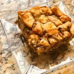 Chocolate Chip Brioche Bread Pudding
